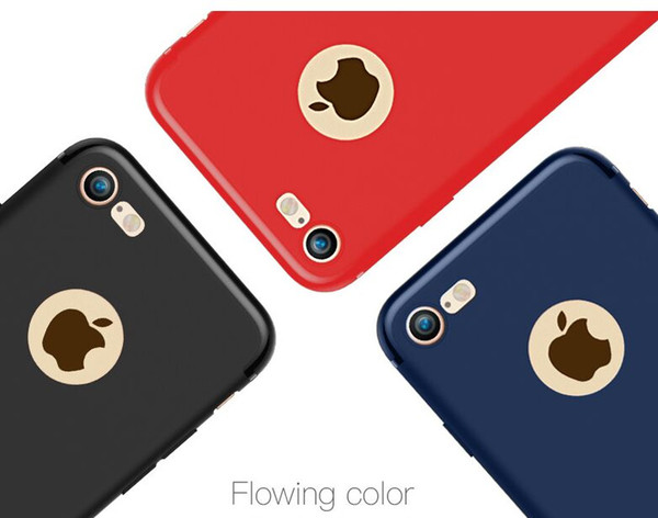 New Arrvial For iphone 7/7plus/6s/6plus cool very thin 0.6mm TPU Case Soft Cover Shockproof TPU Phone protector