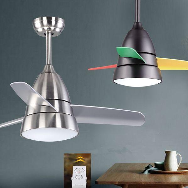 36inch kid ceiling fan light Children room fan light with remote controller fashion modern ceiling lights