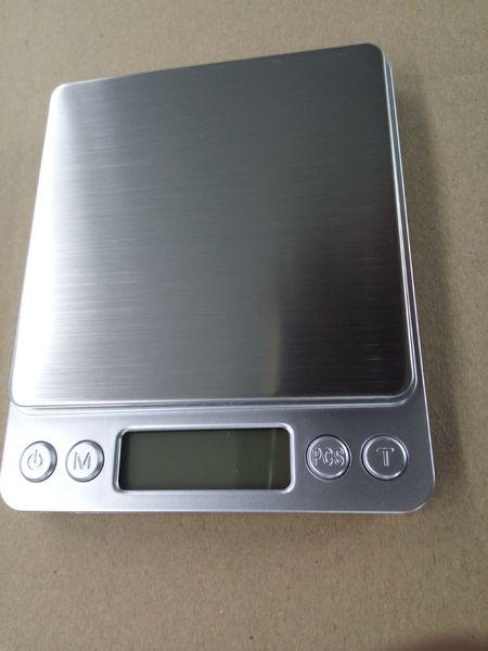 I2000 1KG 2KG 3KG /0.1G Cocina Digital Electrónica Balanza de cocina LCD 70PCS / LOT