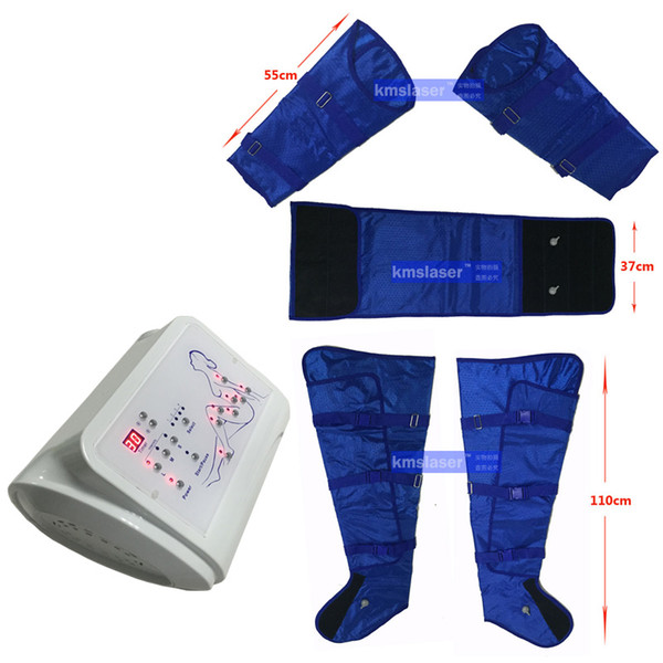 New come 16 bags air pressure pressotherapy High quality and fast slim far infrared sauna blanket machine for slimming