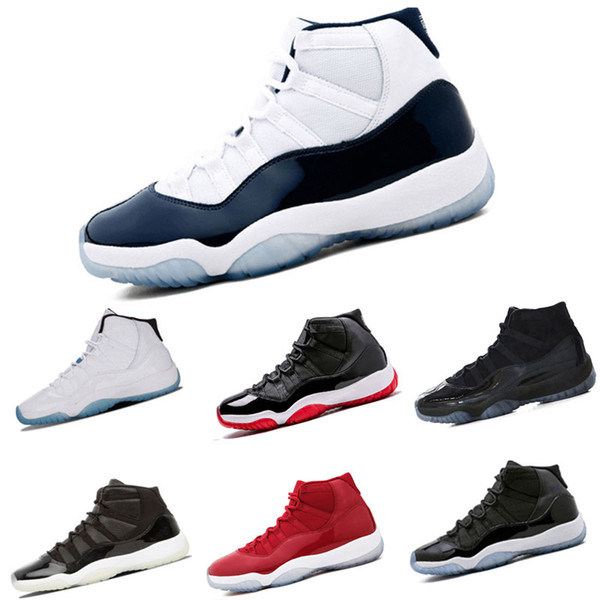 11s Prom Night Basketball Shoes 11 Hombres Mujeres gorra y vestido Gym concord rojos PRM Heiress criados gamma blue Sports Sneaker