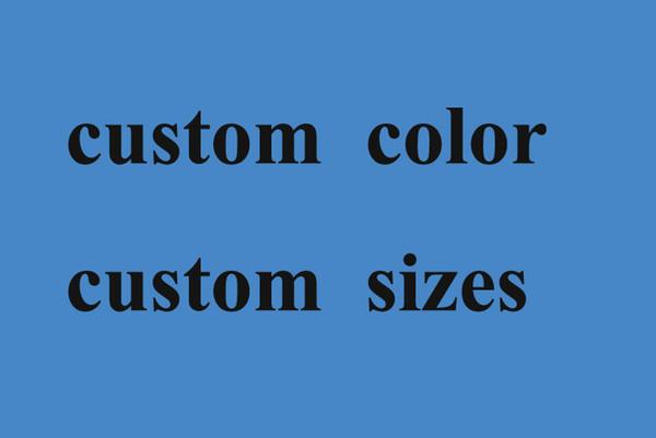 kundenspezifische Farbe Größe