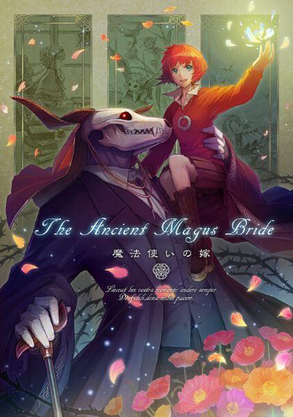 Mahoutsukai no Yome Anime Art Affiche en tissu de soie 36