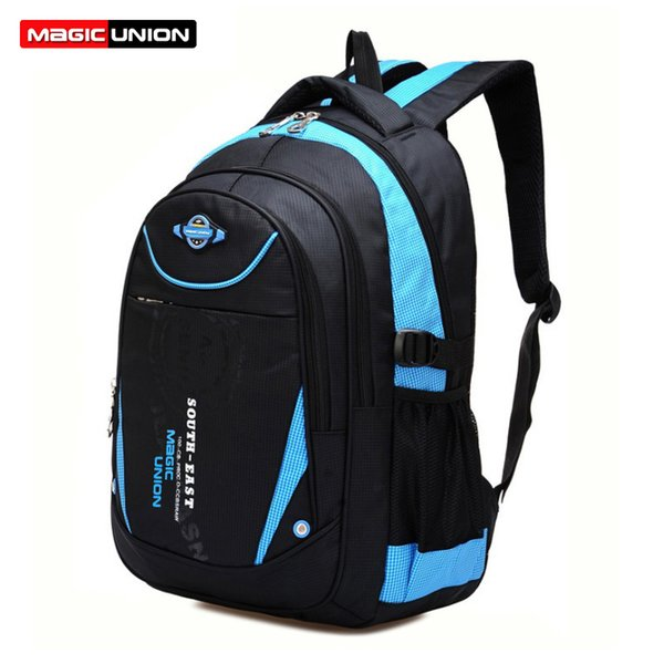 MAGIC UNION Children School Bags For Girls Boys High Quality Children Backpack In Primary School Backpacks Mochila Infantil Zip Y18120303