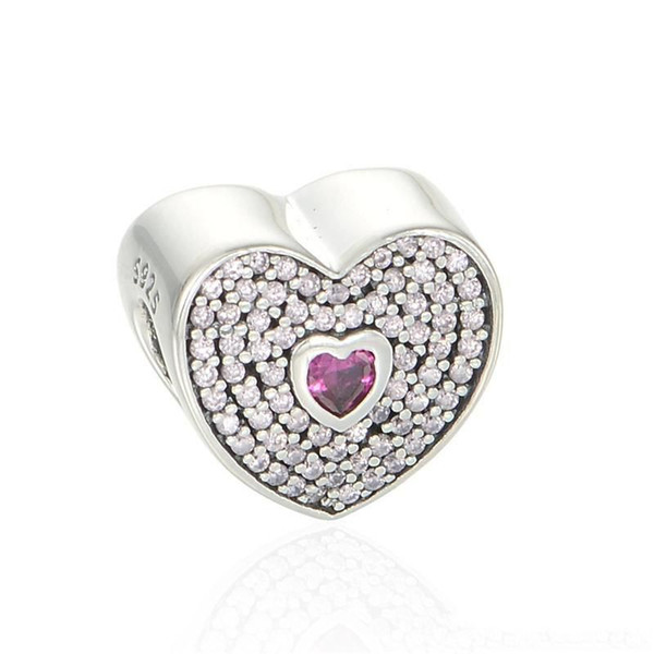 S925 sterling silver jewelry fits pandora bracelets antique free shipping ale LW442H9