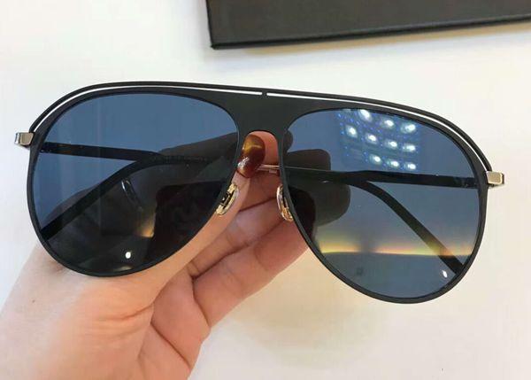 Gafas de sol con cristales negros y azules para mujer 0217 Gafas de sol con cristales SONNENBRILLE Gafas de sol con caja y cristales nuevos