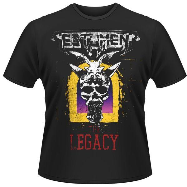 Testament 'The Legacy' T-Shirt - NOUVEAU OFFICIEL! Drôle livraison gratuite Unisexe Casual cadeau tshirt