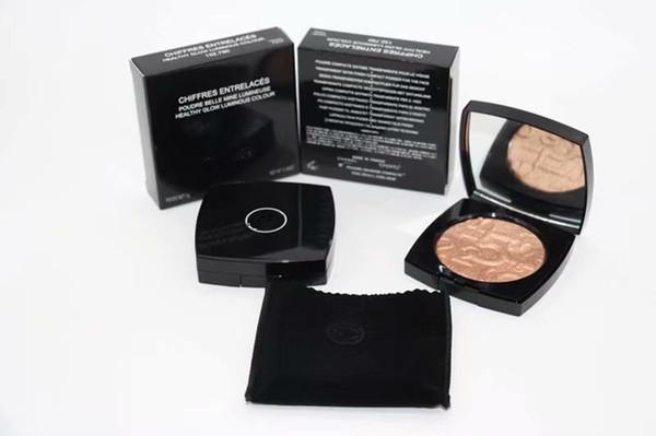 Free shipping New Makeup Face Natural Three Dimensional Two Way Powder