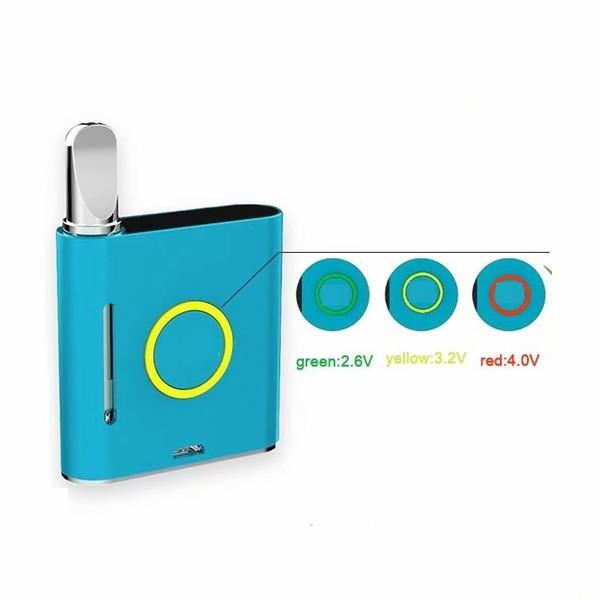 Аутентичные VMOD Vape Pen Kits Box Mod 900 мАч vape моды Аккумулятор Подходит для картриджей CE3 Бак для густой нефти Распылители ecig