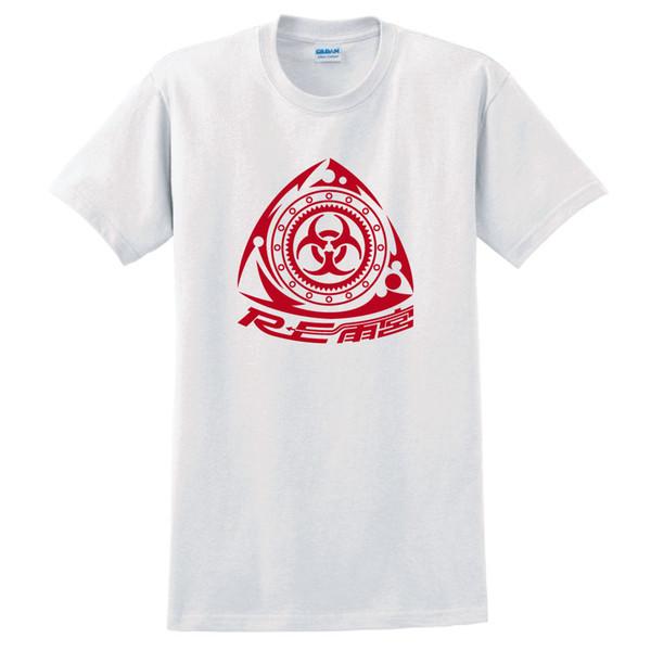 Re Amemiya Mazda RX-7 RX-8 T-Shirt White S-5XL Round Collar Short Sleeve Tee Shirts Cartoon Character Fashion Logo Printing T Shirts