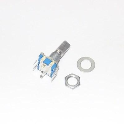 5PCS Half axis rotary encoder, handle length 15mm code switch/ EC11 / digital potentiometer with switch 5Pin