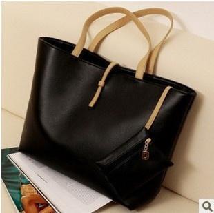 Bolsas de mano nuevas de la moda de las mujeres grandes del estilo de las compras Bolsas de asas calientes de la señora de las mujeres hobo Pu de la PU del bolso del bolso del mensajero del cuero en venta