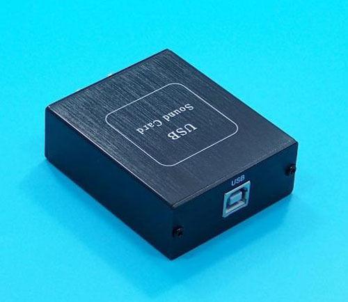 Freeshipping SA9027 + ES9023 24BIT/96KHZ Asynchronous USB DAC HIFI Sound Decoder with Case
