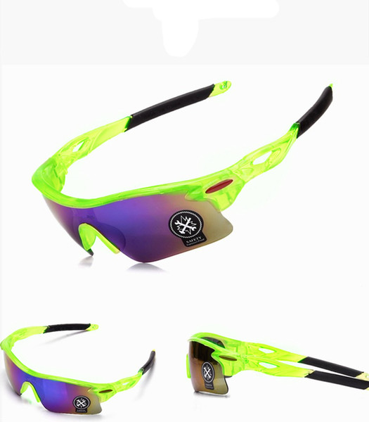 12 Colors Bicycle Cycling Eyewear UV400 Sunglasses Glasses Outdoor Sun Glasses Mountain Bikes Sport Explosion-proof Goggles