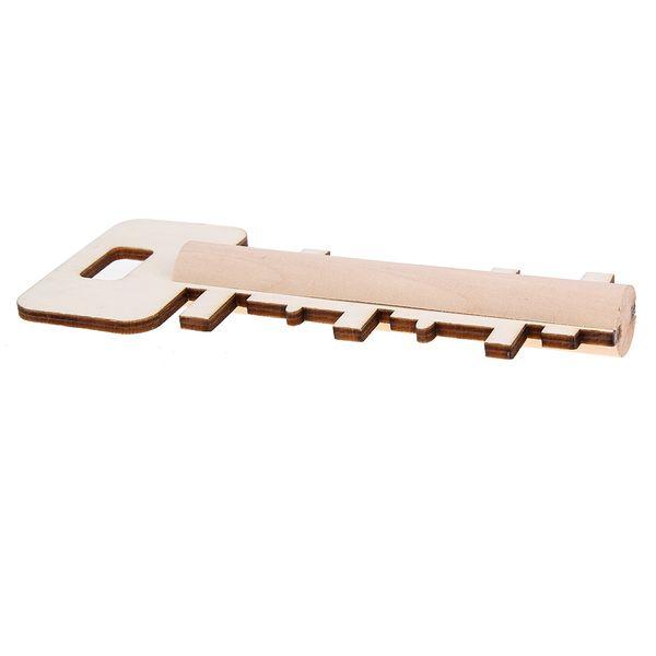 Unlock Puzzle Key Blocco creativo classico per bambiniAdulto regalo di compleanno Educazione Montessori Woode Intellectual Toy