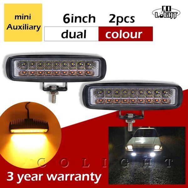6LED 18 Watt Arbeitslichtleiste DRL Fahren Nebelscheinwerfer Lampe Für Offro CL