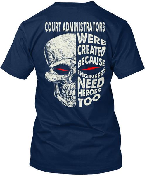 Stylish Court Administrators Were Created Because T-shirt Élégant (S-3XL) T-shirt Men Boy Designed Custom Short Sleeve Boyfriend's Plus Size