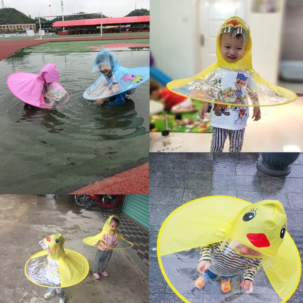 UFO Kids Rain Coats Cover baby rain poncho Children Raincoat Funny kids clothing Outdoor Play Video Photography Props big size for adult