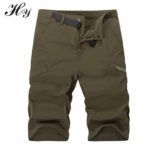Outdoor Hiking Shorts Men Waterproof Climbing Trekking Shorts Homme Breathable Pantalones Cortos Hombre Sport Pantaloni Trekking