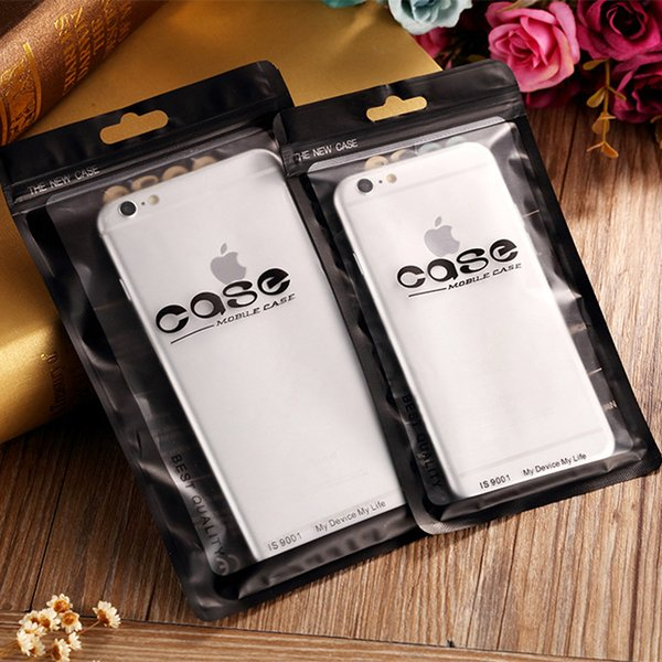 Plastic CPP PET BOPP Perlized Film Phone Case Retail bag Packaging Package for Iphone X 8 7 6 6S Plus SE 5 Samsung Galaxy S7 S6