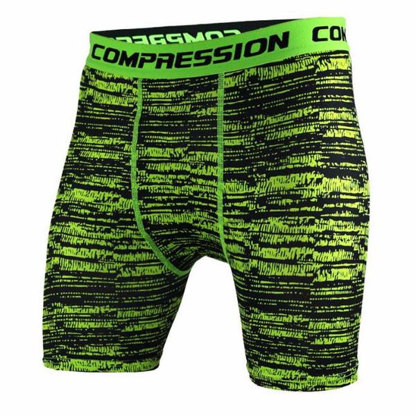 Livraison gratuite Hot Sale Camouflage Quick Dry Hommes Tight peau Compression Shorts Nouveau élégant Taille: S-XXXL