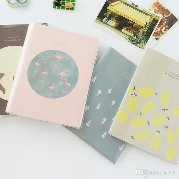 Tägliche wie Serie Fotoalbum Flamingo Bär Birne Silk Samt Blumen Muster Alben Buch Hausbedarf Heißer Verkauf 9 5zb ii