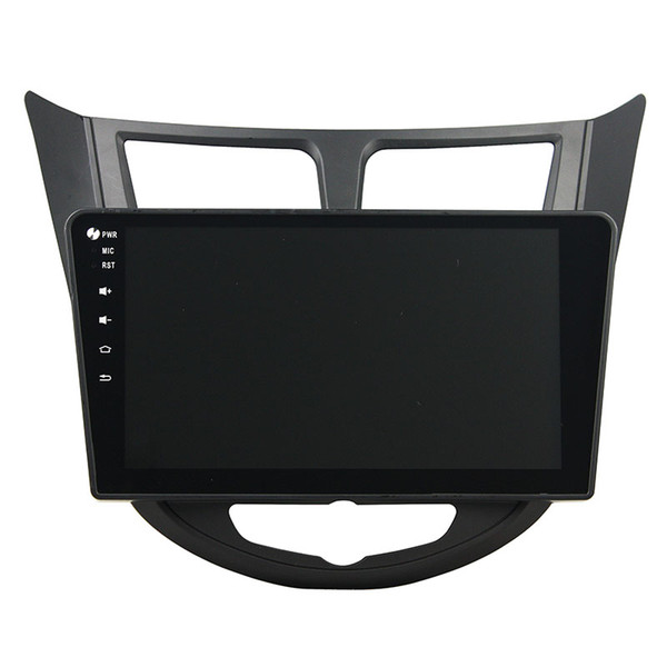 Car DVD player for HYUNDAI Accent High quality 4GB RAM 10.1inch Andriod 8.0 with GPS,Steering Wheel Control,Bluetooth,Radio