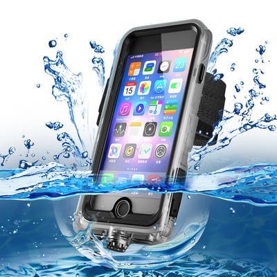 Marken-wasserdichter dropproof schmutzfester Unterwasserfototauchen-schützender Telefon-Kasten für iPhone6 / 6s, iPhone6P / 6SP, iphone7, iPhone7P, iPhoneX