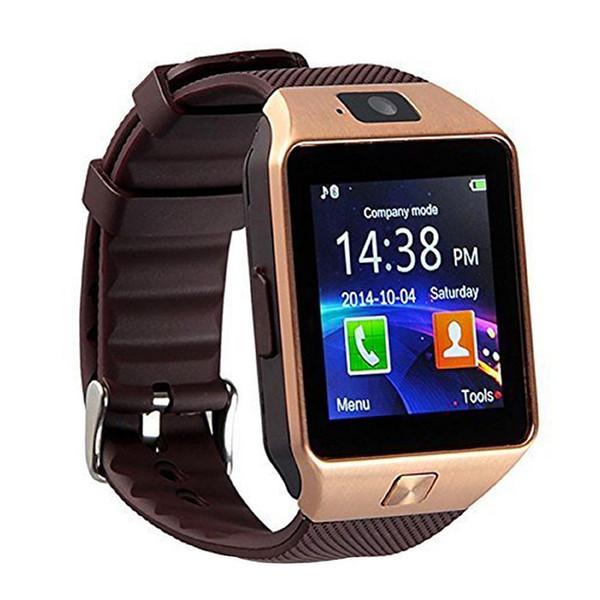 metà fuori e003a fdf7e DZ09 Smartwatch Intelligente Orologio Digitale Sport Orologio Da Polso  Telefono Apple IPhone Android Uomini Donne Elettronica Orologio D Best ...