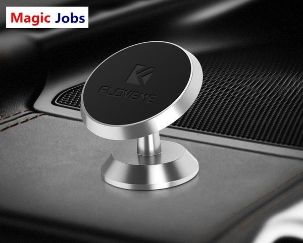 Magic_Jobs Magnetic Phone Holder Universal For iPhone Samsung Two Style Air Vent Dash Board Magnet Movil Phone Stand Soporte in Car