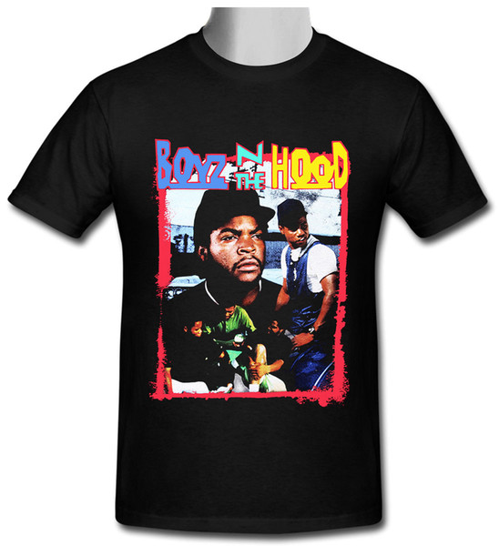 Boyz N The Hood Vintage Ice Cube Top tee black T-shirt size S to 2XL