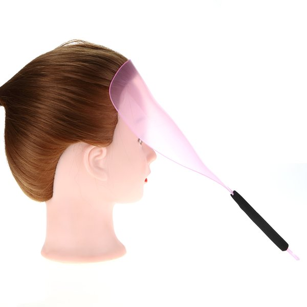 Hair Care & Styling Styling Accessories 1pcs Hair Salon Haircut Face Mask Plastic Shield Sponge Handle Face Eyes Protector Hairspray Mask Hair Styling Accessories Tool