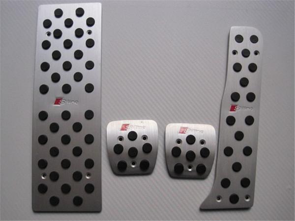 pedali auto Accessori per automobili in alluminio Audi A3 / Audi Q3 / Audi TT Gas Freni Pedale auto che designa gli accessori