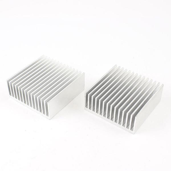 Wholesale- 2pcs Chipset Heatsink Heat Diffuse Cooling Fin 50mm x 56mm x 20mm