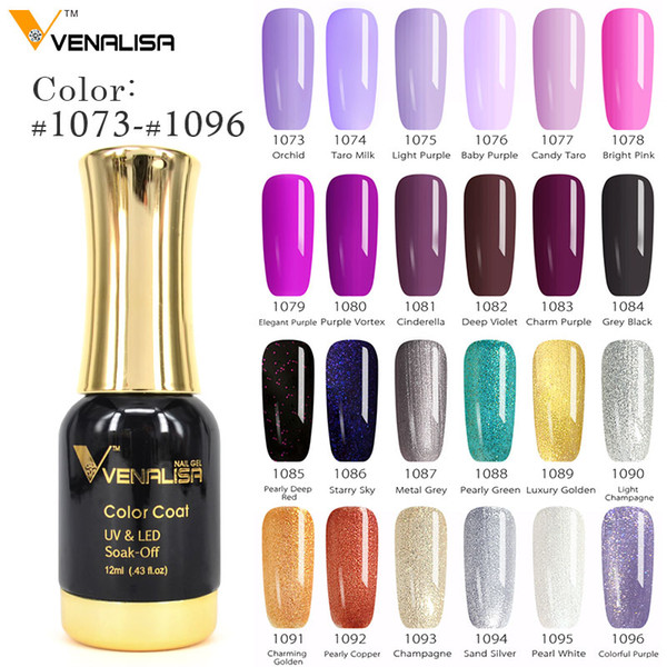 #60751 2018 New Nail Paint Gel 12ml 120 colors Gel Polish Nail Soak Off UV Polish Lacquer Varnishes