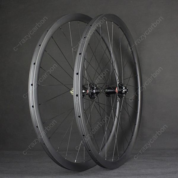 Free Shipping The Best Road Bicycle Disc Brake 30mm Road Bike Carbon Wheel 700C Racing Road Aero Bicycle Wheels