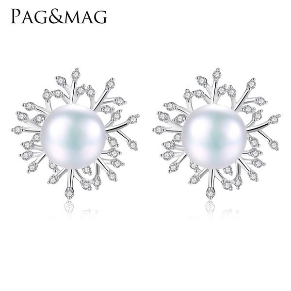 925 Sterling Silver Clear Zircone Cubique Boucles d/'oreille pour les femmes européennes filles