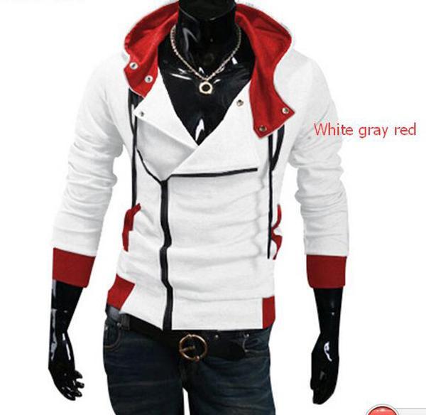 White gray red