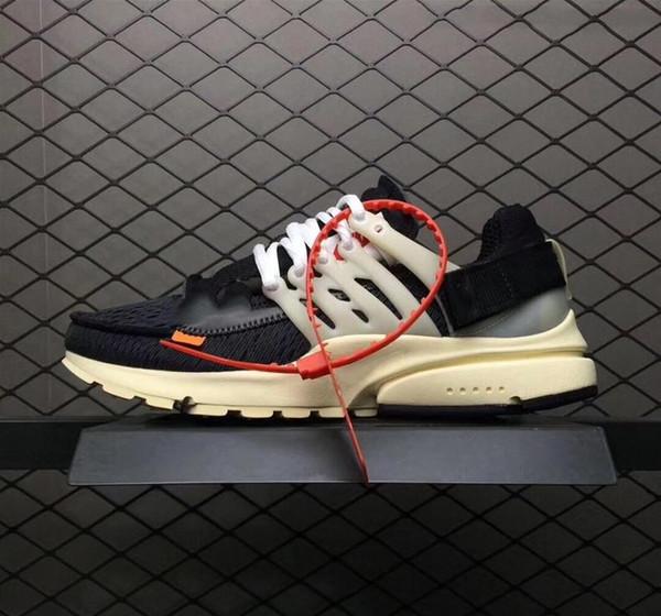 [Orijinal Kutusu Ile] Koşu Ayakkabıları on Presto Kadın Erkek Marka Tasarımcı Beyaz Spor Sneakers 5.5-11