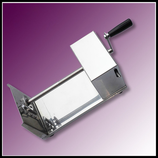 Spiral Potato Chip Makers Simply Maintenance French Fries Cutter Low Noise Vegetable Slicer