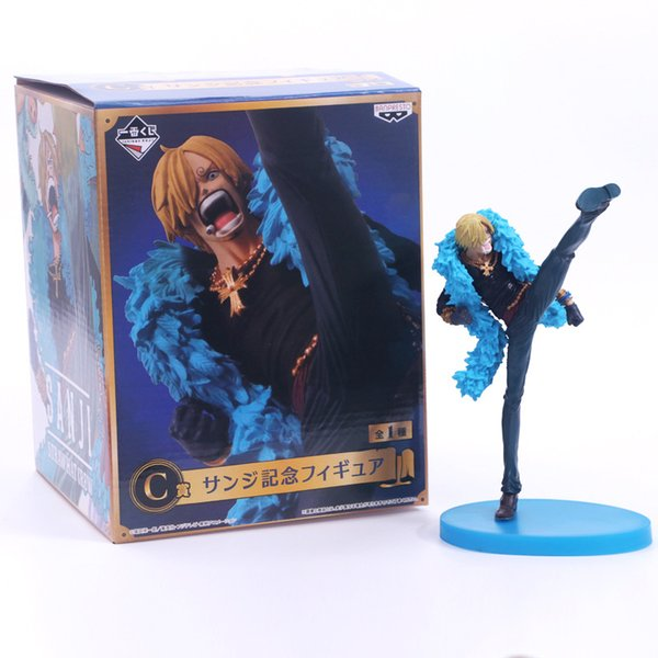One Piece Action Figure pvc Straw Hat Pirates 20th Anniversary Blackfoot Mountain