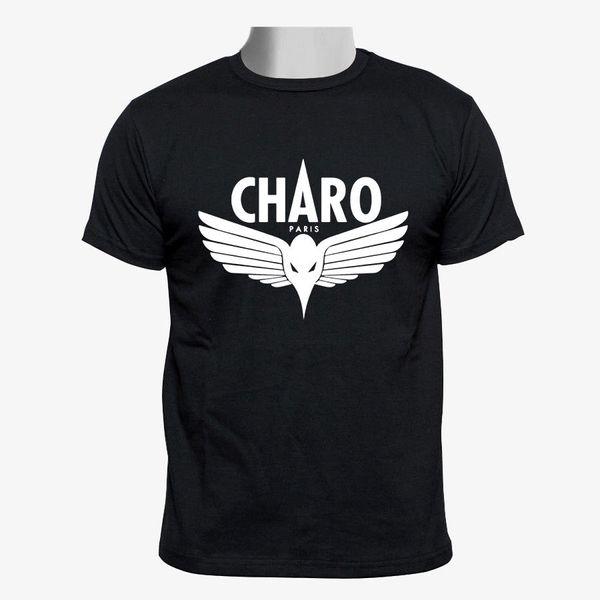 Charo - tamanho preto S do Tshirt dos homens do costume de Niska - 2xl