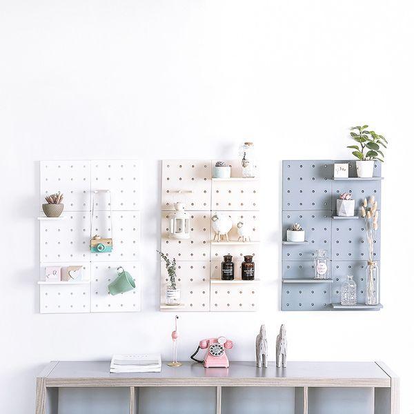 Living Room Decoration Shelf Organizer Adjustable Kitchen Storage Rack Plastic Bathroom Shelves For Wall Kitchen Accessories