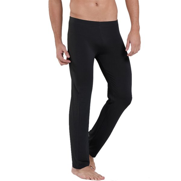 custom new images of forefront of the times 2019 Mens Pajamas Long Johns Sleep Underwear 4XL 5XL 6XL Tight Warm Sleep  Bottoms Men'S Soft Comfortable Lounge Pants Pyjama G 2460 From Qi0727, ...