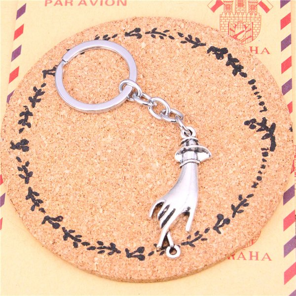 Keychain palm connector Pendants DIY Men Jewelry Car Key Chain Ring Holder Souvenir For Gift