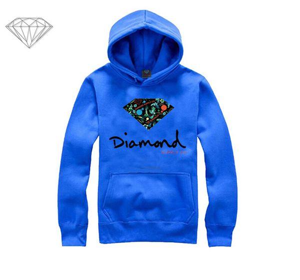 Diamond Supply hoodie for men free shipping diamonds hoodies hip hop brand new 2018 sweatshirt men's clothes pullover M07