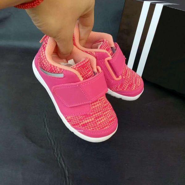 High quality Toddler Infant Fortaplay AC I Pink Baby Running Shoes Children Kid Preschool Grade-schooler Sport Sneaker 22-30 144-195mm