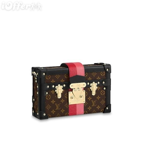 Petite Malle M43872 Bicolor Stripe Classic Trunks Women Handbags Shoulder Messenger Bags Totes Iconic Cross Body Bags Top Handles