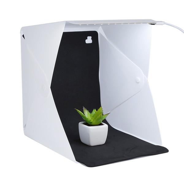 Profissional Mini Photo Studio Box Fotografia Iluminação Pano de Fundo embutido Luz Photo Room Cube Box Acessórios Da Câmera