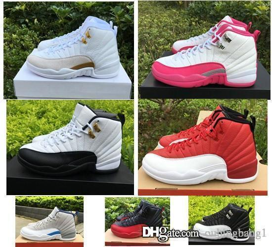 100% Original 12 women basketball shoes online authentic quality real sneakers US size 5.5-8.5 free shipping with box